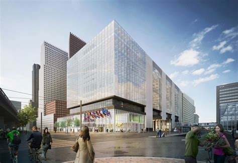 OMA chosen to convert rijnstraat 8 offices in the hague