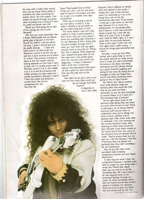Old Vinnie Moore Interview - Neo-Classical Metal - Forums