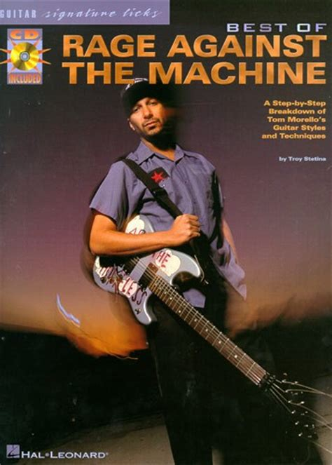 Sheet Music : The Best Of Rage Against The Machine Guitar