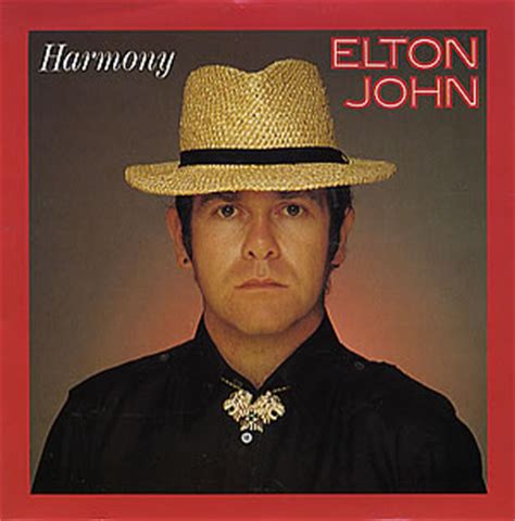 Song of the Day, March 25: Harmony by Elton John   Music