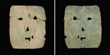 3,000-year-old copper mask found in mass grave is oldest