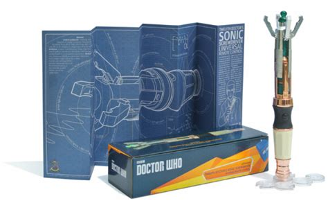 The Twelfth Doctor's Sonic Screwdriver Universal Remote
