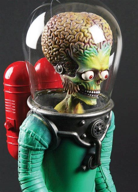 """Stop-motion puppet from """"Mars Attacks"""