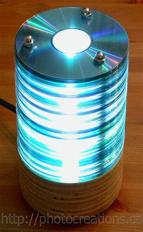 Unique DIY Projects Made from Upcycled CDs and DVDs