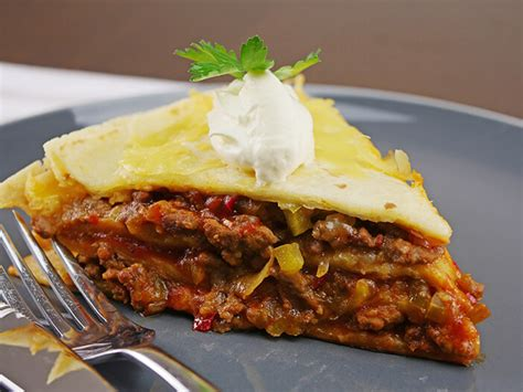 Layered Slow Cooker Beef Enchiladas - Slow Cooking Perfected