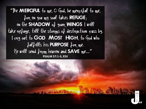 """Psalm 57:1-3 