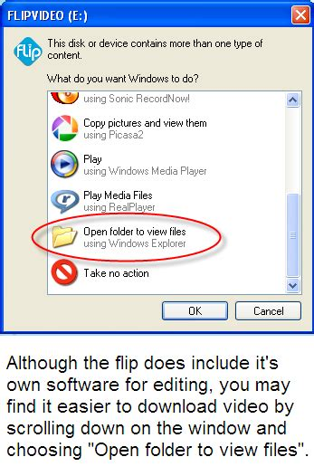 Downloading From the Flip Video   Technology Resource Teachers