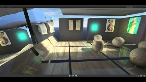 Unity mobile optimized vertex box projected local cubemap