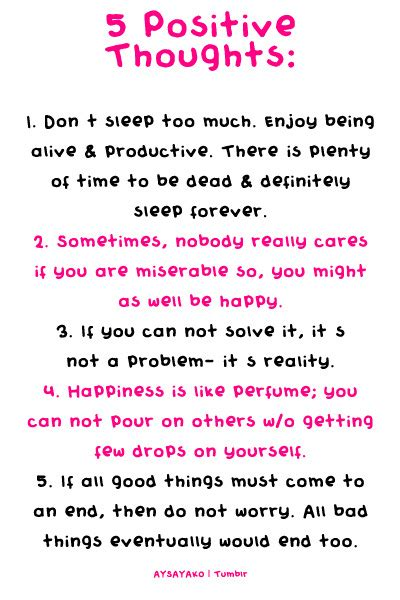 Top 28 Positive Quotes & Sayings - Positive Thinking Quotes