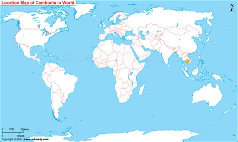 Where is Cambodia?, Where is Cambodia Located in the World Map
