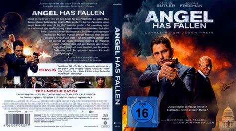 Angel Has Fallen (2019) R2 German Blu-Ray Cover - DVDcover