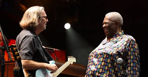 Eric Clapton Pays Tribute to B
