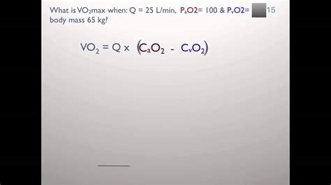 Using oxyHb and Fick to calculate VO2max - YouTube