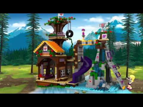 LEGO 41122 Friends Adventure Camp Tree House at Hobby