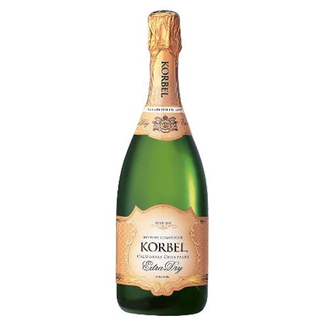 KORBEL CALIFORNIA CHAMPAGNE EXTRA DRY for only $13