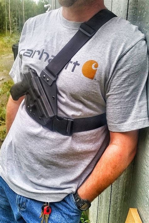 QLH Chest Holster - Alaska's number one chest carry system