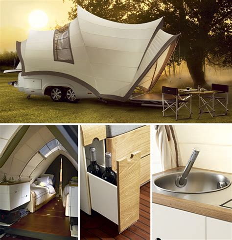 Opera Pop-Up Camper Makes Outdoor Camping A Genuine Luxury