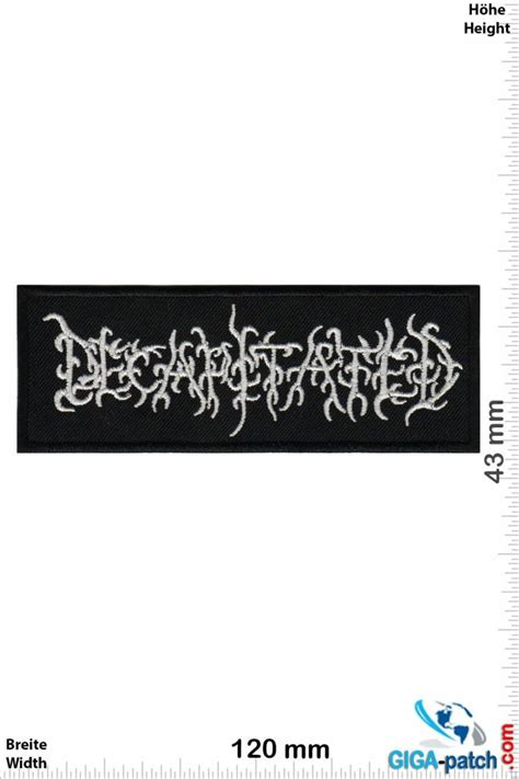 Decapitated - Patches -Back-patch - Patch Sleutelhangers