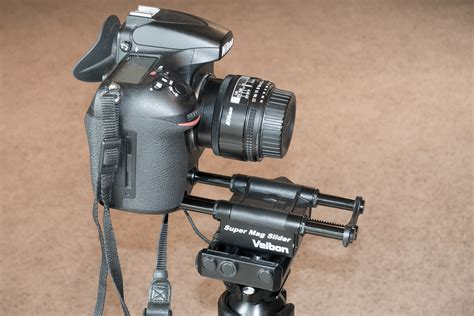 Two Inexpensive Focus Rails for Macro Photography