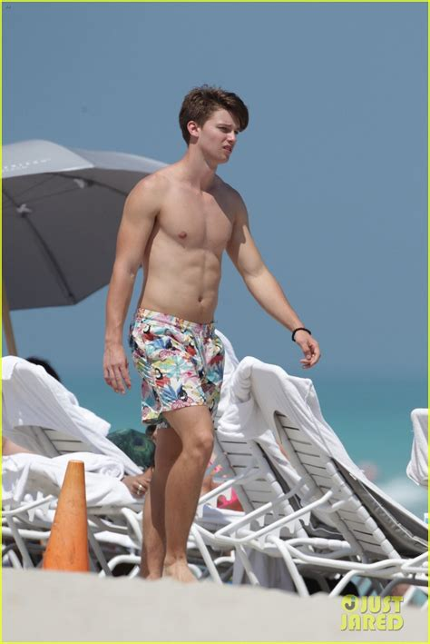 Patrick Schwarzenegger Is A Shirtless Chip Off The Old