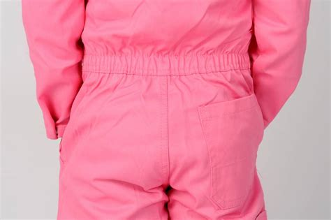 Goedkope roze kinderoverall - Chick-a-dees