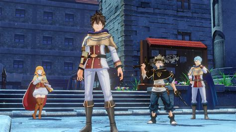 BLACK CLOVER: QUARTET KNIGHTS Yuno's Outfit on Steam