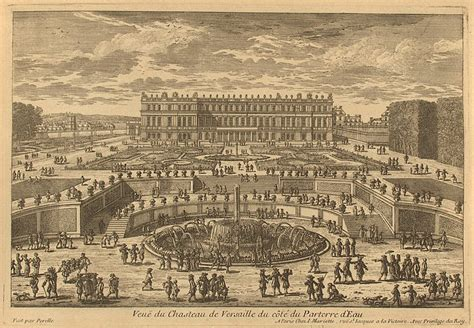 View of the Versailles Palace from the Park - Gabriel