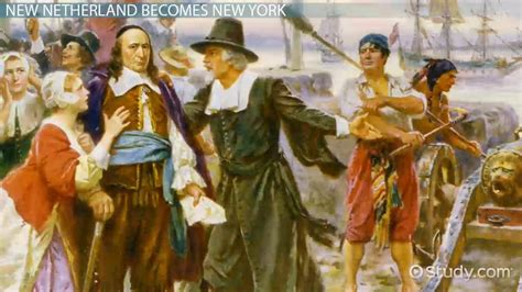 New Netherland Colony: History & Facts - Video & Lesson