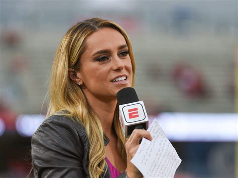 A pregnant ESPN reporter clapped back after she was body