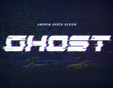 Cyberpunk Text Effects vol 2 by Sko4   GraphicRiver