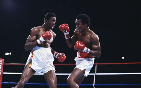 Boxer Thomas Hearns in the ring wallpapers and images