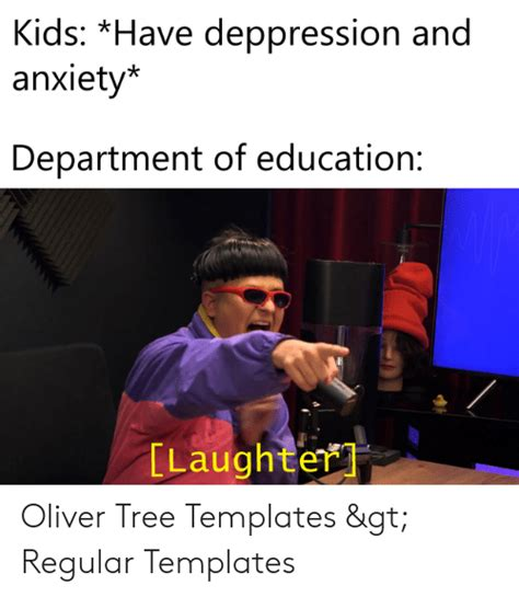 Kids *Have Deppression and Anxiety* Department of