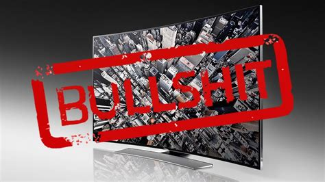 Why Curved TVs are Rubbish - Rant - Curved TV vs Flat TV