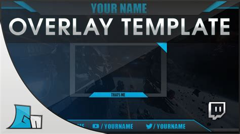 Photoshop Stream Overlay Template | all Colors | Free