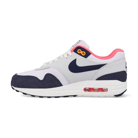 Nike Air Max 1 319986-116 Wit / Blauw / Roze