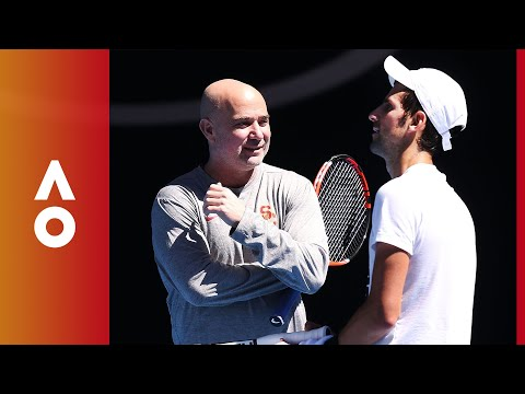 How Steffi Graf changed Andre Agassi's mind about coaching