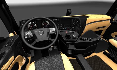 The Luxury Interior For Mercedes-Benz New Actros - ETS2 Mods