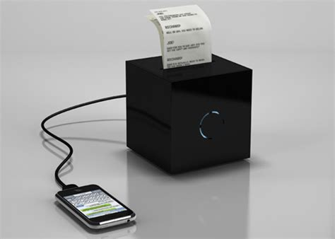 Portable Printer Plugs Into Your Phone, Prints Text