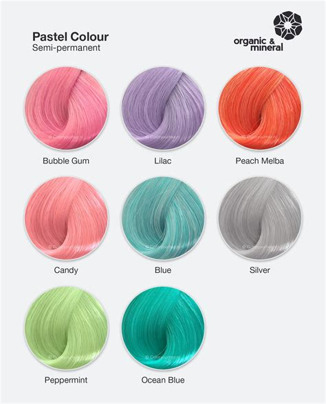 Organic & Mineral Pastel Colour Silver - Coloryourhair