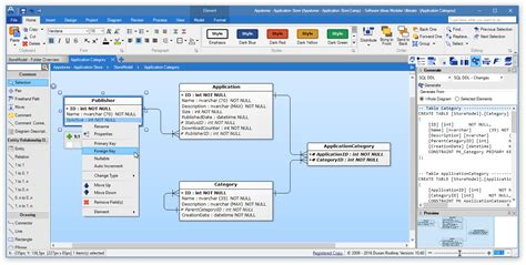 ERD tool - entity relationship software - Software Ideas