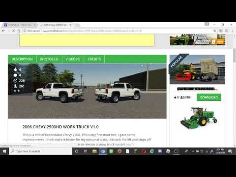 HIDDEN MODS in YOUR MODHUB at Farming Simulator 2019 | HOW