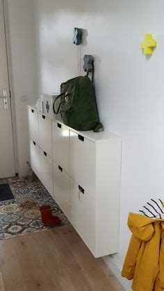 I am in LOVE with these shoes storage cubbies from Ikea