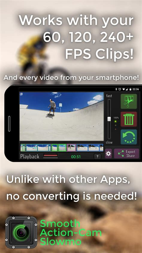 Smooth Action-Cam Slowmo for Android - APK Download