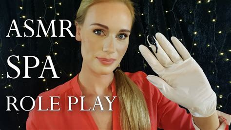 ASMR SPA ROLE PLAY!! (whisper/head scratching/counting