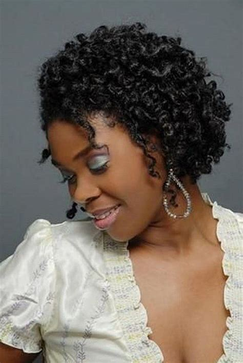 short curly crochet hairstyles - When