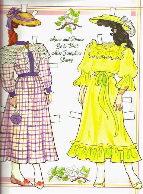 The Paper Collector: Anne of Green Gables Paper Doll by