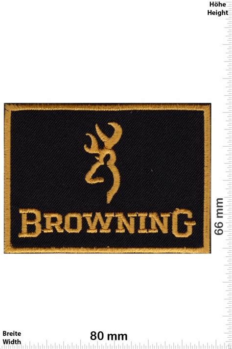 Browning - Patches -Back-patch - Patch Sleutelhangers