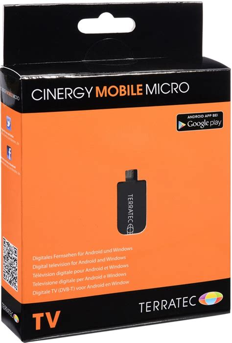 Terratec Cinergy Mobile micro - Android DVB-T TV-stick