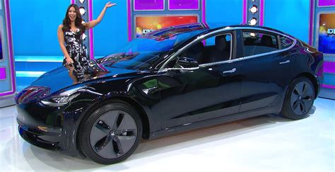 Tesla Model 3 picked for 'The Price is Right's' iconic
