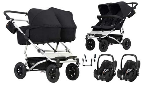 Mountain Buggy Duet twin 3in1 set wit Maxi Cosi - buy online
